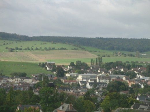 Just an unknown village in Normandy that we saw passing by in the Motorway.