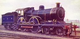 Great Eastern Railway 4-4-0 Claud Hamilton class in GER Royal Blue