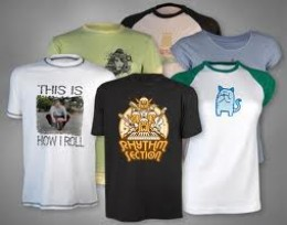 Custom t-shirts provide youth with a way to express themselves.