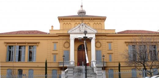 Cannes - Palais de Justice, boulevard Carnot