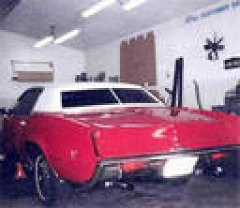 James' dream car for father