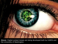Digital Contact lenses: Bionic vision