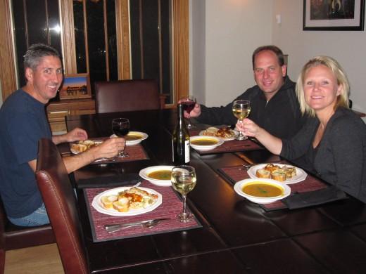 Enjoying a $5 Meal on September 17, 2011