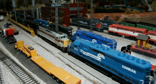 model railroad trains and railways