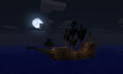 Adrift, with a few modifications from the captain and myself.