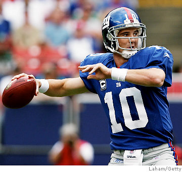 Eli proved to be among the Elite as he led the Giants to a last minute game winning drive over the Patriots on Sunday.