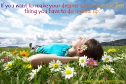 How-To Make Your Dreams Come True