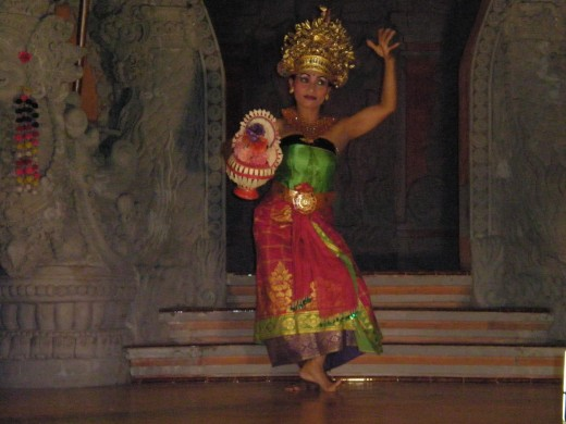 If you are going to visit Bali, don't miss the beautiful Balinese Dance.  Legong Dance Performance, Ubud, Bali, Indonesia.