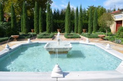 Photo 5 - A Gorgeous fountain that has a couple of different things it represents.  It is very bright and beautiful.