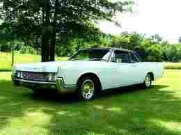 late 60's Lincoln Continental  A boat!