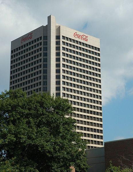 Coca-Cola World Headquarters. Atlanta.