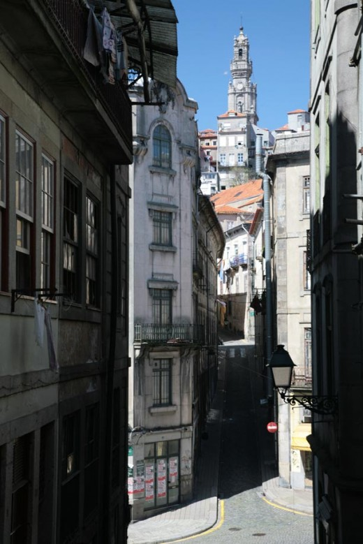 Lanes of Porto's city centre