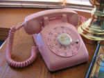 A PINK PHONE FOR THE LADIES? NO. IT'S A PINK PHONE THAT ANYONE CAN USE.