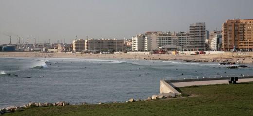 Porto's Matosinhos beach