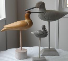 "Carved ""Jersey"" Birds...Photo by Stephan"