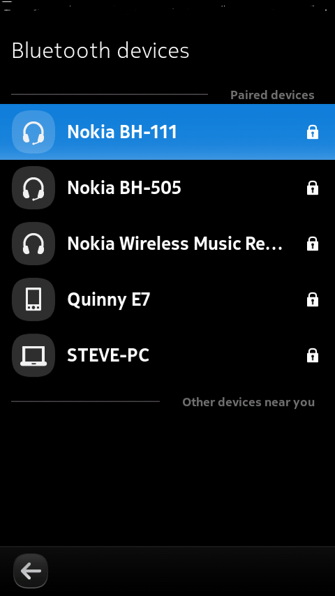 Connected to N9