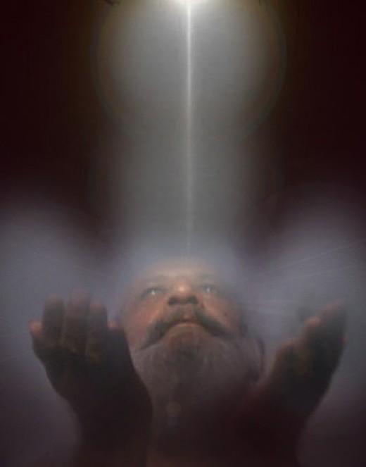 Descending Healing Energy