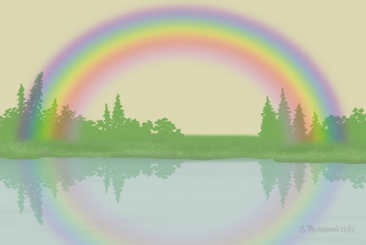 """Rainbow"" by the author (Samuel Richardson, AKA SamboRambo). Submitted for contest"