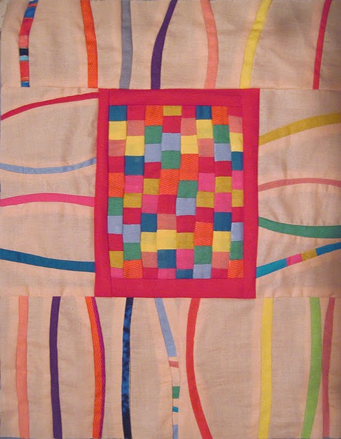 A liberated quilt is more free and playful than a traditional quilt.