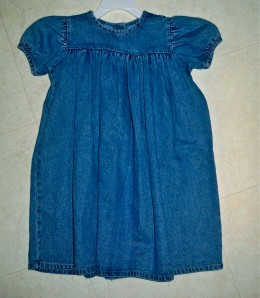 Sweet toddler dress can be embellished so many ways.