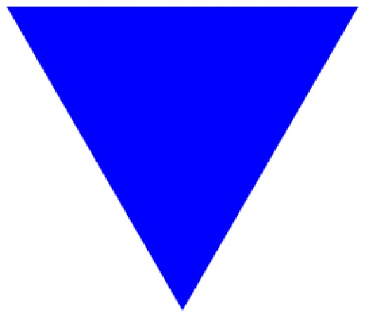 """ The Blue Triangle"""