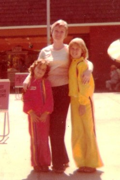 One of the very last pictures of my mother with me and my sister.  August 1978, San Diego Zoo.