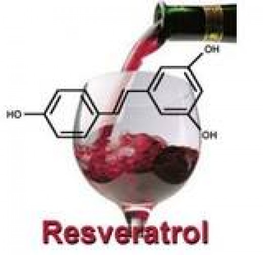 Reservatrol and antioxidant found in among other things, grape skins, is thought to boost the immune system and serve as an alternative anticarcinogen against cancers such as melanoma.