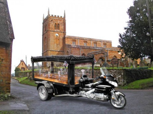 Biker Funerals, Motorcycle Hearse