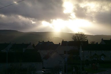 The play of light with the clouds of West Yorkshire is amazing. These pictures were taken with an old Sony Cybershot. I am not a particularly good photographer, but I feel these pictures are worth sharing.