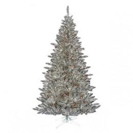 Pewter Tinsel tree