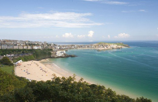 Porthminster beach in St Ives