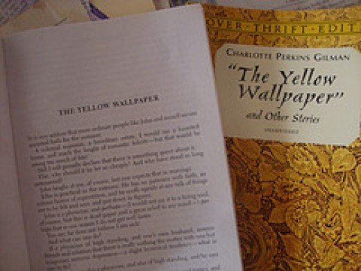 womens struggle with mental illness and in society in the yellow wallpaper by charlotte perkins gilm The yellow wallpaper this change represents the narrator's mental breakdown she figuratively and literally looses her mind in the wallpaper.