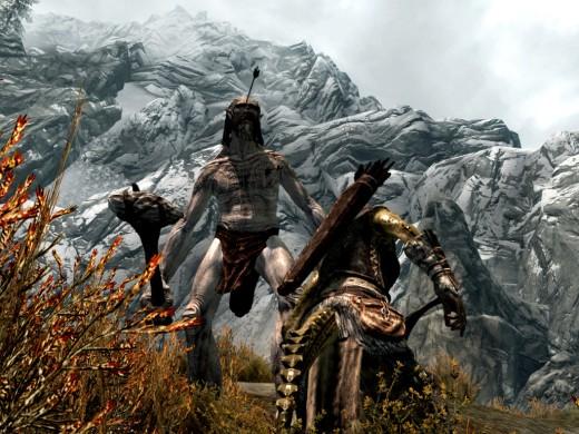 Giant in Skyrim