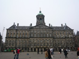 Royal Palace and Dam, Amsterdam, The Netherlands