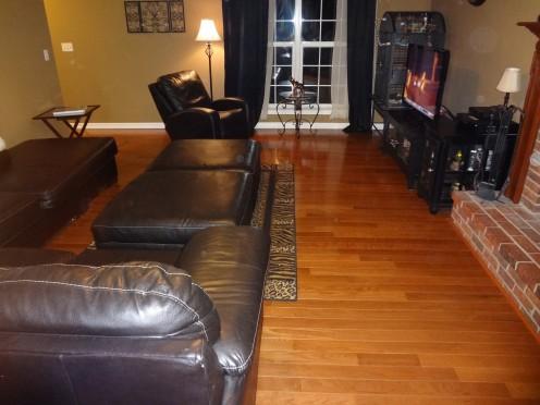 I love shiny floors!