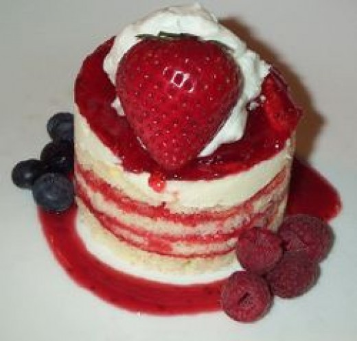 Delicious Strawberry Shortcake