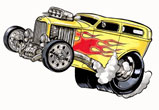 Hot Rod: Animation