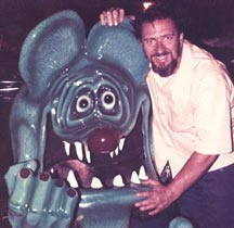 Ed & The Rat Fink Show Car