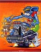 Rat Fink Monster Design
