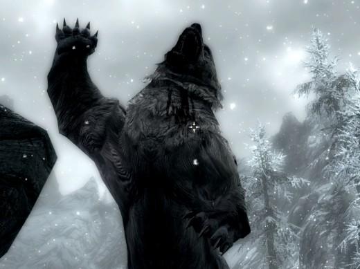 Snow Bear in Skyrim