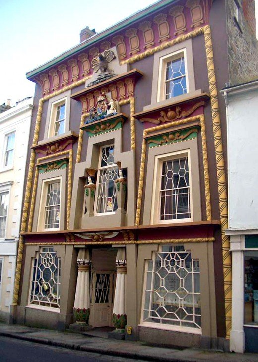 The Egyptian House on Chapel Street