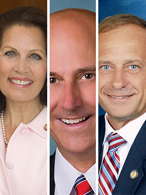 Crazy Caucus--Bachman, King, Gohmert