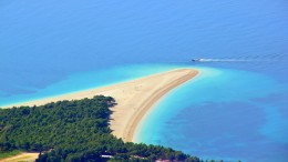 The Beach Zlatni Rat Bol Island Brac, Croatia