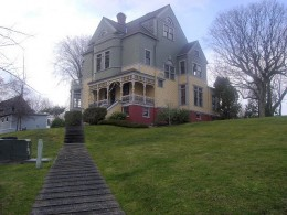 Walker-Ames House in Historic Port Gamble WA
