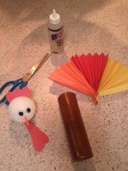 Turkey Tableware and Napkin Holder