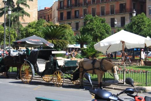 Plaza de la Reina, Valencia, Spain