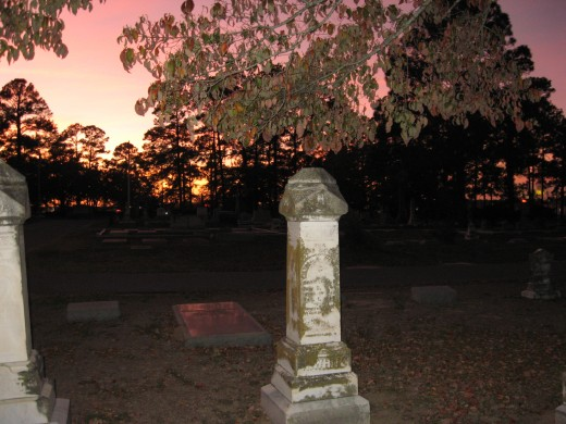 Some people report seeing their own gravestones in after death experiences.