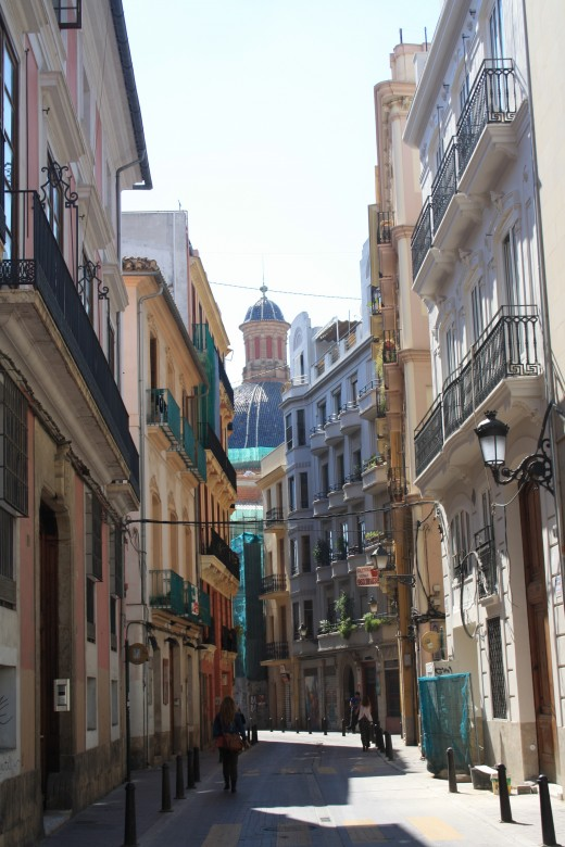 Valencia old city, Spain