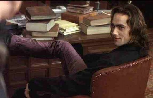This is what Myrnin should look like. Stuart Townsend. Photo Queen of the Damned