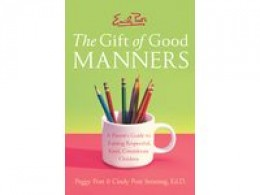 When you are looking for a Book on Manners you don't need to look for another Author at all.Emily Post has said it all in detail with her several books and CD's.